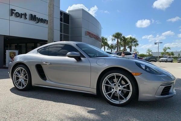 Porsche Fort Myers >> 2019 Porsche 718 Cayman