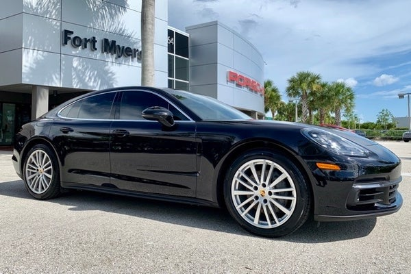 2017 Porsche Panamera 4s In Fort Myers Fl